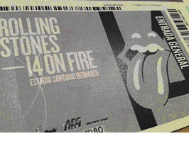 The Rolling Stones, Madrid 25/6/2014